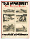 Army Ordnance Department - Your Opportunity! Circa 1919.