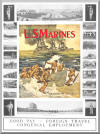1913 USMC (US Marines) Recruiting Poster - Color
