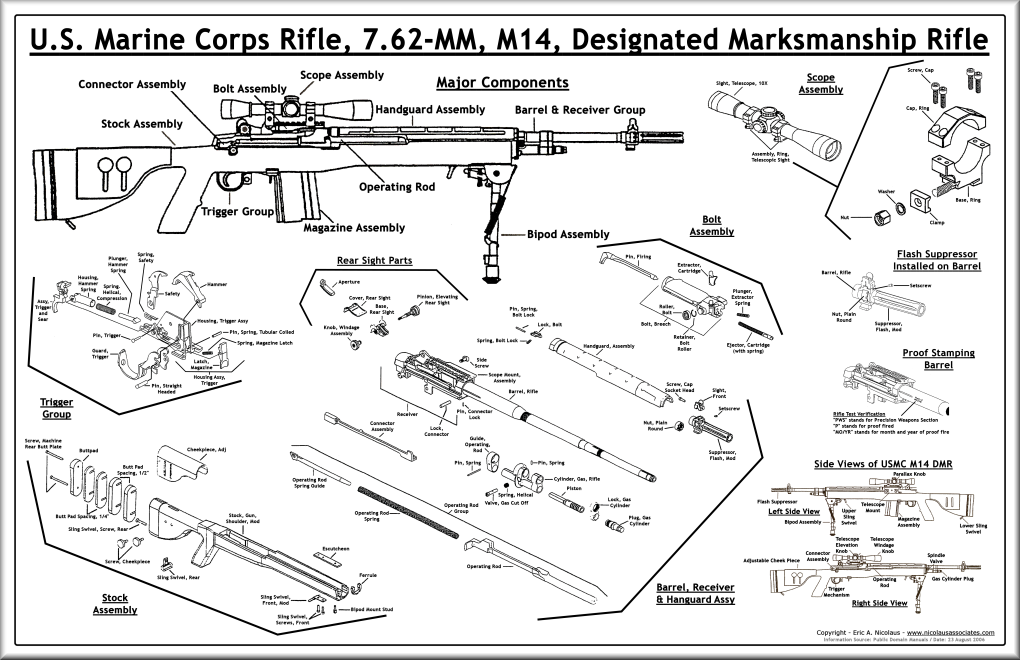 usmc m14 designated marksmanship rifle m14 forum rh m14forum com M40 Rifle usmc designated marksman manual