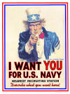 "Uncle Sam ""I want you for U.S. Navy"""