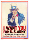 "Uncle Sam - ""I Want You For U.S. Army"""